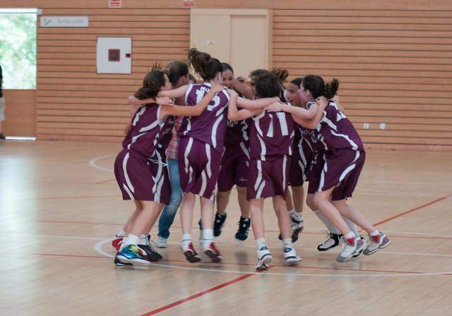 Celebración título de Liga Mini B (Mayo 2012)