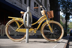 Yellow Huffy