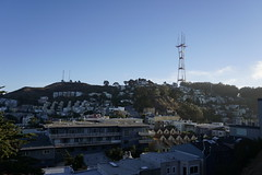 San Francisco Mt Sutro and Sutro Tower