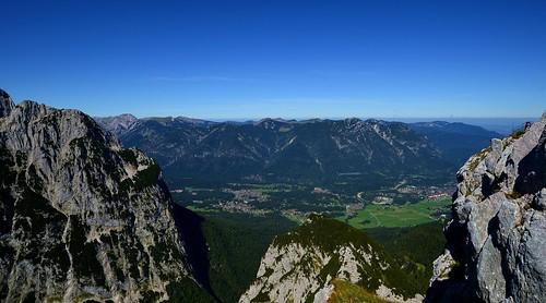 Garmisch-Partenkirchen - View from the Alpspitze