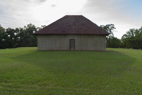 Ceremonial Structure Atop Mound B
