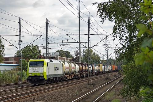 Schwarzenbek Captrain 152 196-2 Container