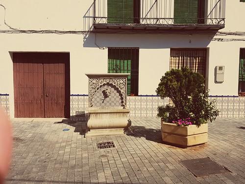 Durcal street fountain