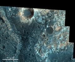 Oyama Crater, Mars