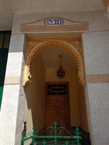 Moorish doorway, Durcal