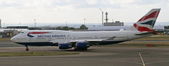 G-CIVU British Airways Boeing 747-400