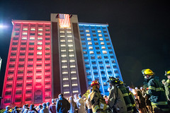 9/11 Memorial Stair Climb Event at Keene Hall at Eastern Kentucky University in Richmond, Kentucky