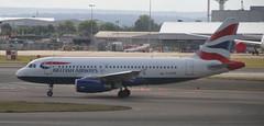 G-EUPK British Airways Airbus A319-131