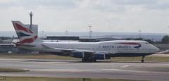 G-CIVU British Airways Boeing 747-436