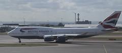 G-CIVV British Airways Boeing 747-436
