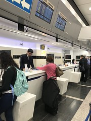 Ticket counters for my Shinkansen ride to Kyoto