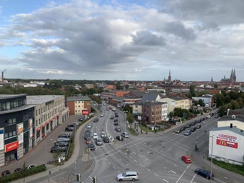 Lübeck - Blick vom Hotel