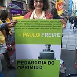 Ato em defesa da educação e da Amazônia