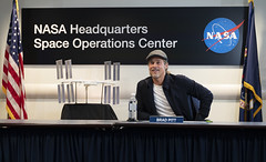 ISS Downlink with Actor Brad Pitt (NHQ201909160001)