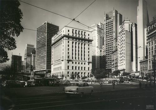 Edifício Matarazzo (atual Prefeitura de São Paulo), Vale do Anhangabaú, São Paulo, anos 1960