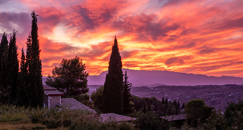 Sunset in Alhaurin el Grande