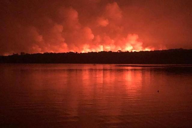 Incêndio em Alter do Chão aconteceu em área de preservação ambiental