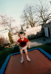1984_Family_Activities_1984_0003_a Naomi on trampoline
