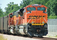 BNSF 9370 (SD70ACe) Marion, Arkansas