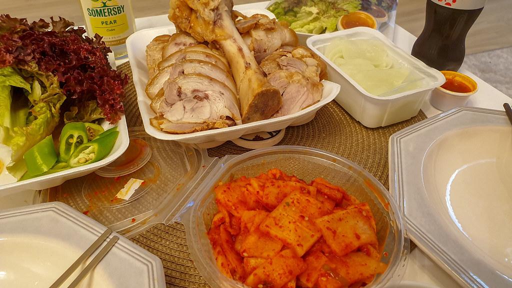 Jokbal Food Jung Nahaufnahme