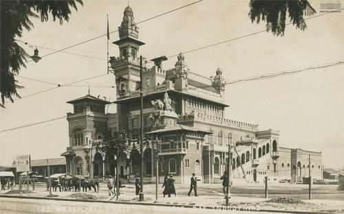 Palácio das Indústrias, São Paulo, anos 1920