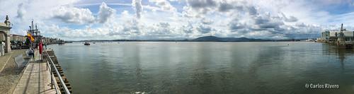 Panorama de la Bahía de Santander.