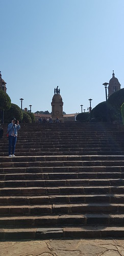 Up the Stairs - Union Buildings