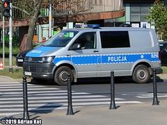 Volkswagen Transporter T6 Policja B215