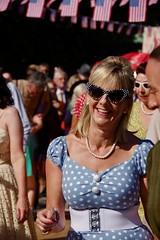 Spotty Dress and Spotty Glasses