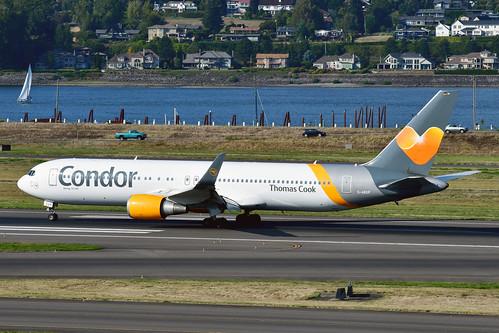 D-ABUP B767-3Q8ER cn 30048 Condor 190903 Portland International 1005