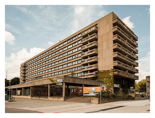 Architecture of the 60s: Maritim Grand Hotel Friedrichswall, Hannover
