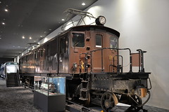 Japan's first large electric locomotive- don't you simply love that balcony?