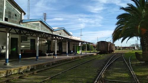 Estación y rieles