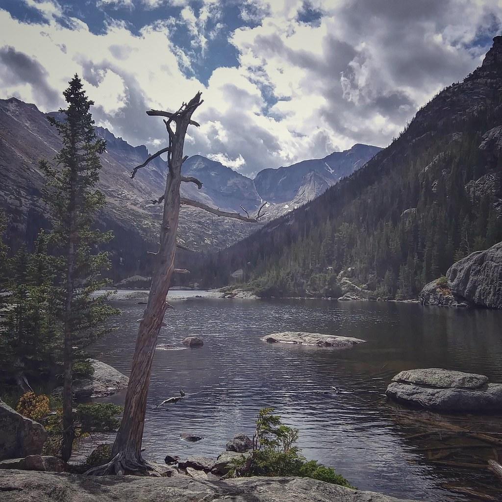 Mills Lake. RMNP