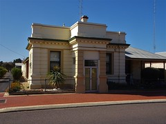 Cowell Eyre Peninsula. The former Bank of Adelaide. Now a residence. Built in 1908.