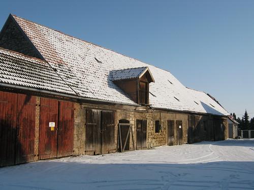 Ställe und Scheunen des Klosters zu Münchenlohra