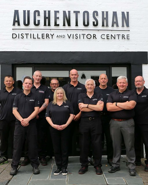 The Auchentoshan production team.