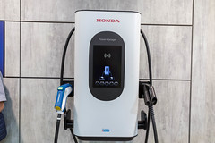 Honda Power Manager: bidirectional charging device to connect electric vehicles to smart power grid