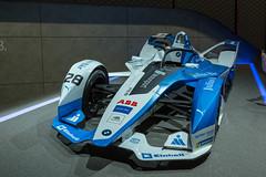 Formel-E Rennauto des BMW i Andretti Motorsport Teams der vollelektronischen Weltmeisterschaft