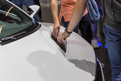 Hybrid technique grilles of Honda NSX