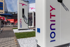 IONITY European HPC-charging station for electric vehicles