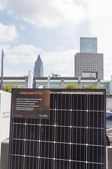 Weatherproofed solar technique: Solarwatt Vision 60M Style, glass-glass module