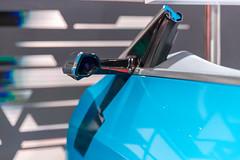 Futuristisches Fahrzeugdesign: Audi e-tron virtueller Außenspiegel