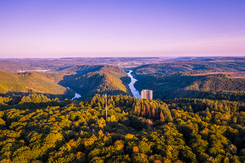 Sunset in Saarland, Germany