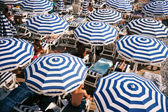Striped Beach Umbrellas 2019
