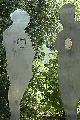7. Kunst im Garten, Artist: Bene Tschanz, Humans