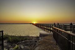 Sunset from Weaver Park Pier - Dunedin FL