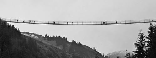 Hängebrücke Holzgau (A)