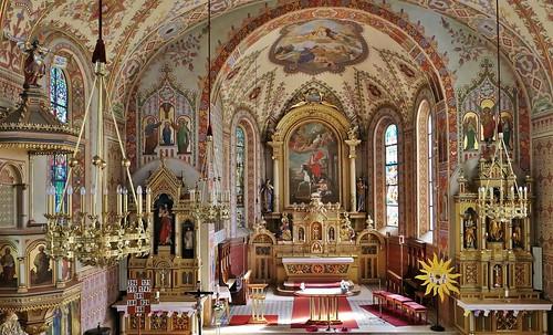 Kirche zum Hl. Martin (1720) te Häselgehr - Lechtal (A)