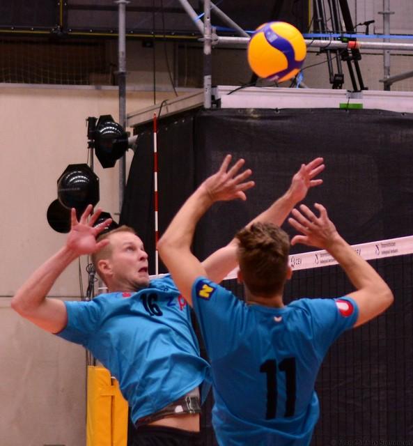 Vorbereitungsspiel USP vs. Waldviertel Volleyball Team